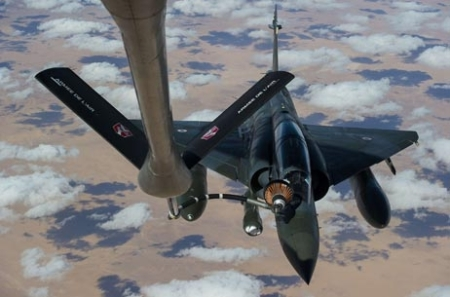 French Mirage 2000 Thirsty Over Chad