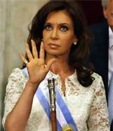 Presidenta Argentina: I Told You IMF Was Nuts