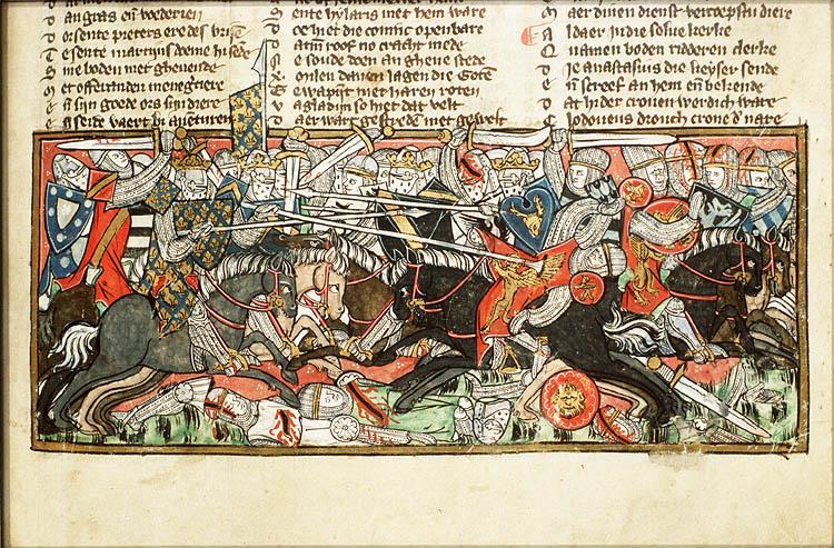 Real Man: Clovis Killed King Alaric Himself