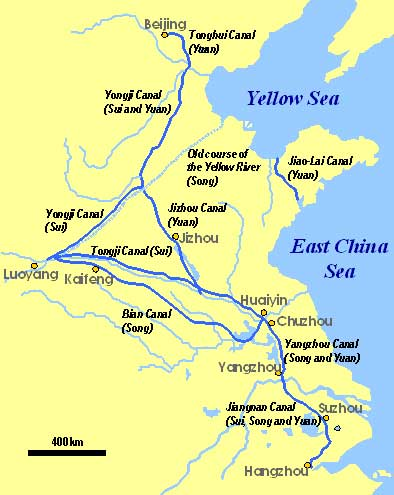 Grand Canals Of China: Built By Government