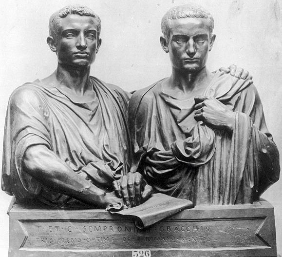 Democracy & Gracchi Murdered Together