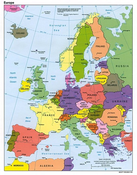 Core of Europe's Worldwide Philosophical Empire