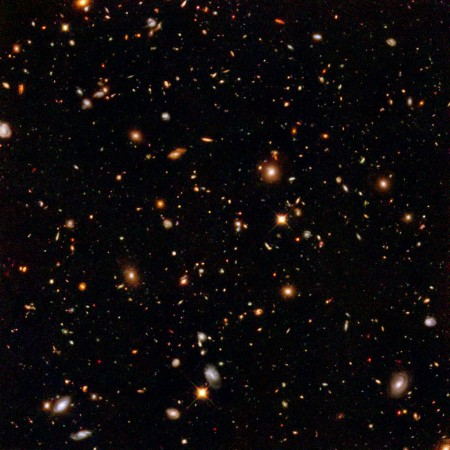 Galaxies To Infinity. 100 Billion Years Old, I Say.