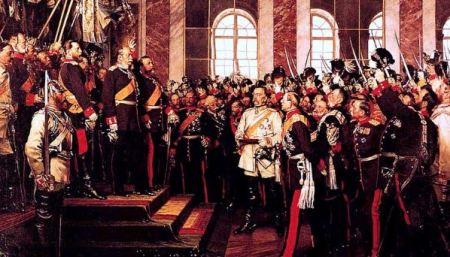 Bad Boys Be Bad Boys: Leaders of  the Kaiserreich Imprinting Themselves In Versailles, 1871.