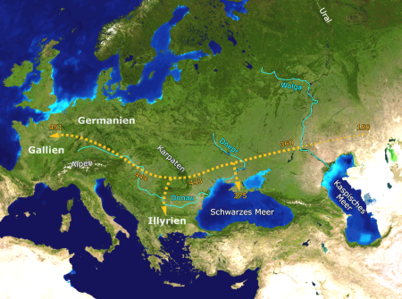 The Huns Wandered One Rhine Too Far