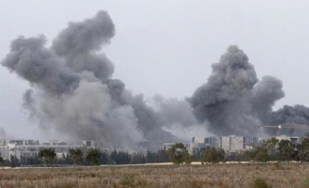 French Air Force Terminating Qaddafi's Henchmen, 11/7/2011, Sirte, Libya.