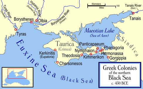The Black Sea Was A Greek Lake
