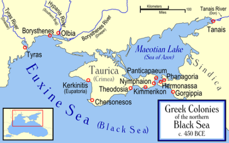 The Black Sea Was A Greek Lake