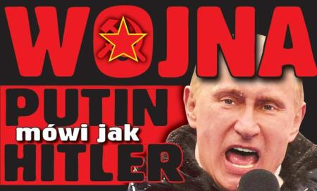 WAR! Putin Speaks Like Hitler