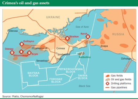 Putin: Got black Mind, Wants Black Gold, Black Sea
