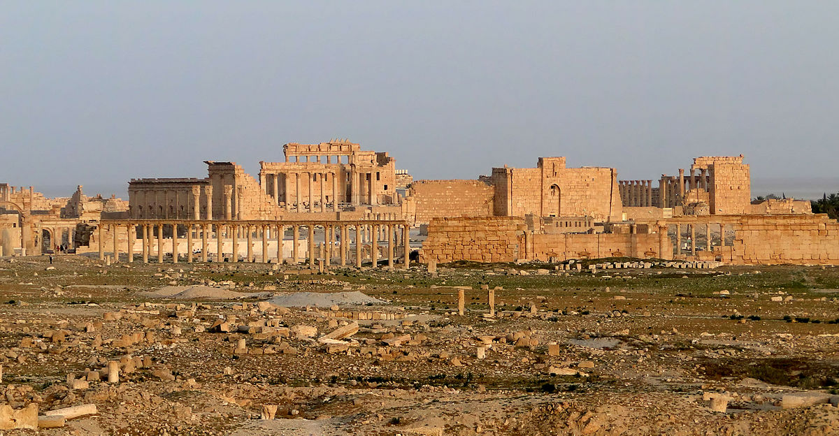 Baal Temple, Syria: Yesterday's God, Today's Lord Of The Flies