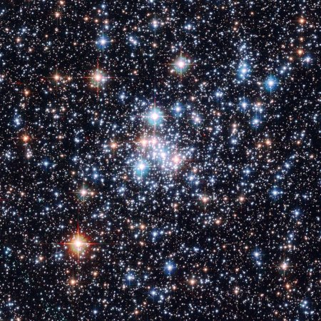 Pleiades Star Cluster: Close To Olbers Effect...