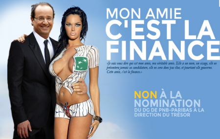 Hollande: Bankster To Lead France