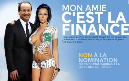 Hollande: Bankster To Lead France