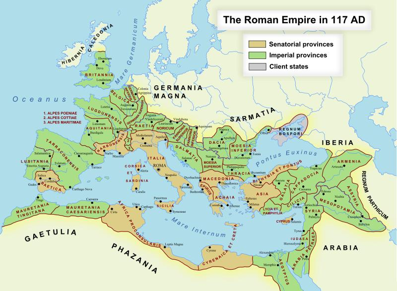 Not Conquering Germania Magna Was The Proximal Cause Of Rome's Failure