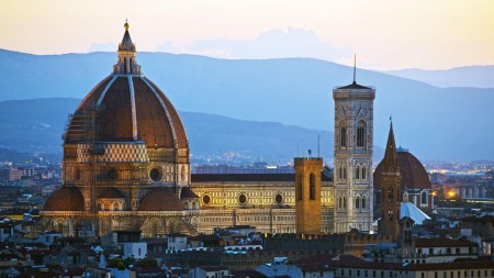 Superb Warning Against Plutocracy: Florence's Republic Collapse. Basilica (Built 1294-1436) World's Largest Dome Until Then