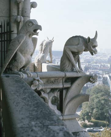 Notre Dame Gargoyles Watch Over Paris To Make Sure Of Extirpating Whatever Needs Extirpation