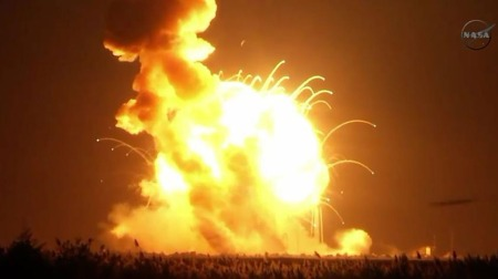 Antares Rocket, One Of Obama's Pluto Pet, Goes The Way Of His Presidency