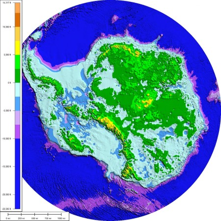 All Antarctica That Is Blue Will Be Under Water Soon