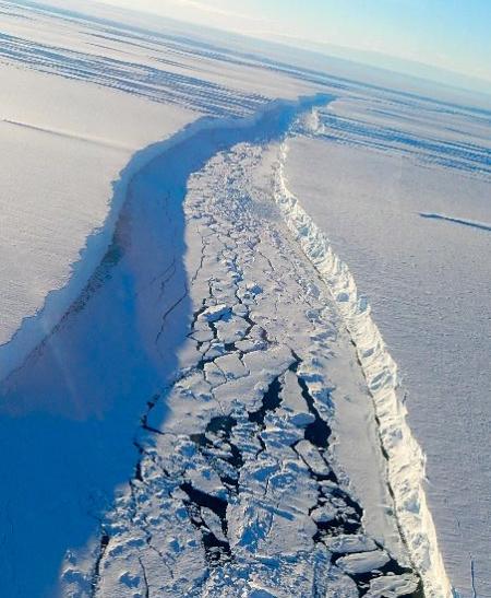 Pine Island Glacier Crack Philosophically Transmutating