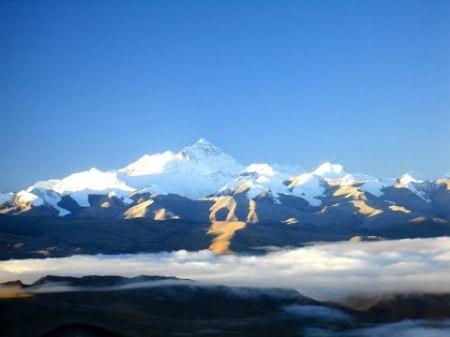 Everest Looks Strikingly Like A Giant Wave. It's A Wave Of Rock Breaking Onto Tibet.