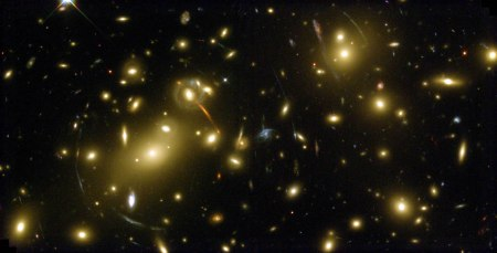 Gravitational Lensing. Lensing Without Gravitation Would Signal Curvature. So Would Apparent Size Variations. Neither Is Observed, However far We Look.