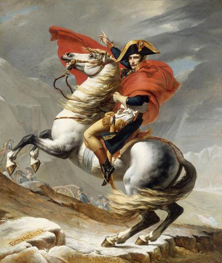 Revolutionary General Napoleon On His Way To Free Italy From Outrageous Plutocracy & Occupation