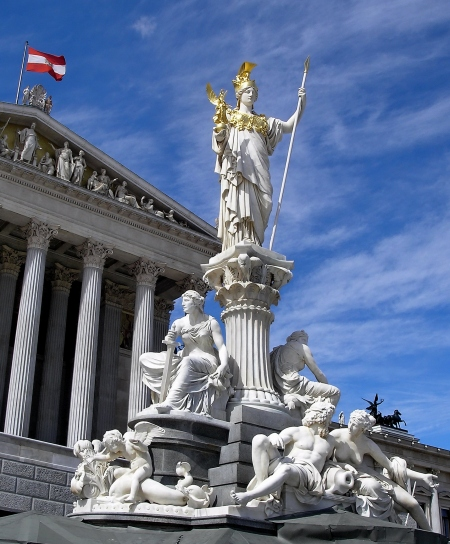 The Mood Which Ought To Rule Civilization: Athena Guarding Austrian Parliament