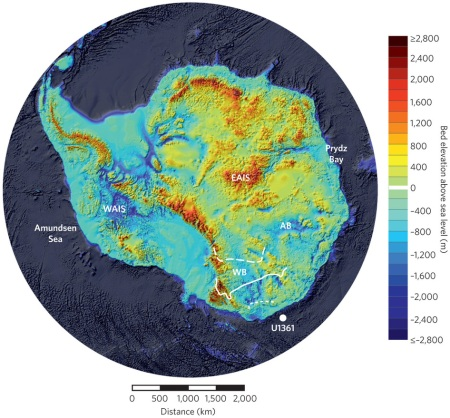 Subglacial Basins Are The Achilles' Heel Of The Biosphere
