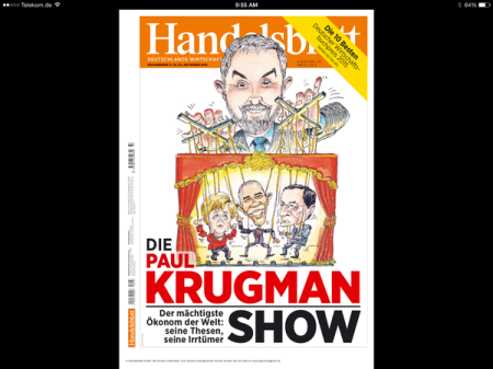 Krugman Is A Philosopher, He Rules World. But Who Pulls His Strings?