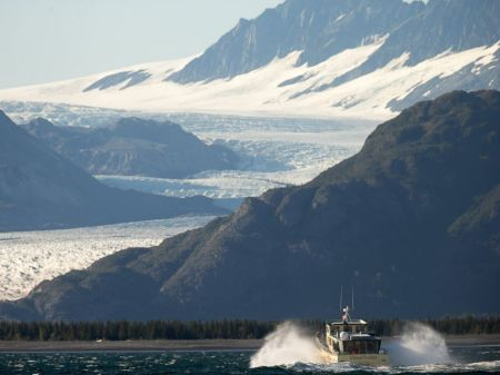 Obama Approaching A Glacier Which May Be Gone In 5 Years Thanks To His Affirmative Inaction