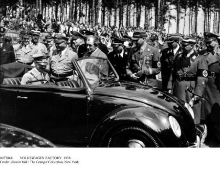 Adolf Hitler (Sitting) Created Volkswagen