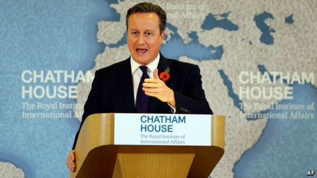 PM Cameron Barking About Europe, An Angry Fish Gulping For Air