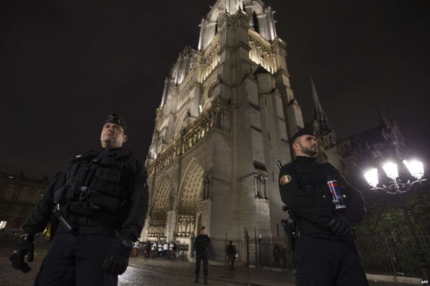 The Republic Protects Its Property, Notre Dame