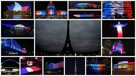 Paris Massacre Observed All Around the World, Including Sydney, San Francisco, Warsaw...