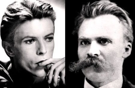 "Nietzsche Said He ""Made Philosophy With A hammer"". Bowie Also Cut Through The Crap"