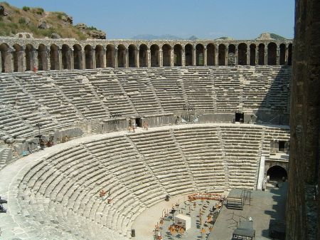 Roman Amphitheater, Aspendos, Present-Day Turkey