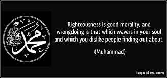 Right, Yet Order Zero Approach, Because, In the Next Step, Righteousness Itself Has to Be Interrogated, Though