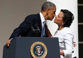 American Presidency Kissing One Of Its Puppet Masters. Vote Clinton To See More Of That, And Make More Tax Fraud Treaties, Like The One They Engineered With Panama