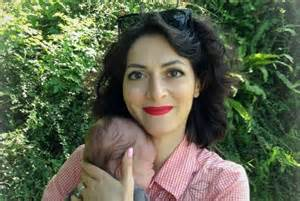Helene Muyal Leiris with Her Son Shortly Before She Was Assassinated By Islamists In Paris