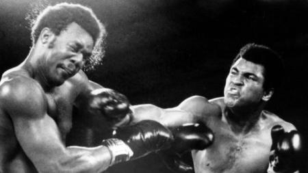 Bang Those Heads Hard, It's Glorious. Ali Smashes Foreman's Brains In Congo, Regaining (His) World Heavyweight Title.
