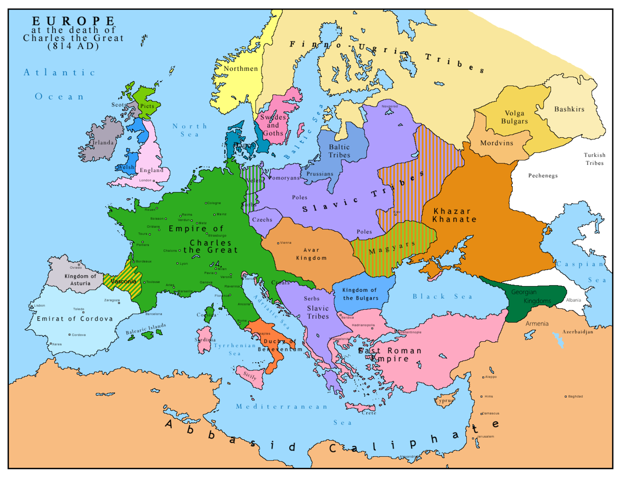 """Technically, Factually, Literally, Linguistically, Religiously, Constitutionally, Civilizationally, Nominally, The Frankish Empire Was """"Rome"""". Much Of Rome Had Been Invaded By The Islamists, But Occidental Rome (the Franks) and Oriental Rome (Constantinople) Blocked Further Islamist Invasion, In 13 Centuries Of War For The Former."""
