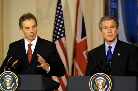 Blair Gave Bush The Cover He Needed
