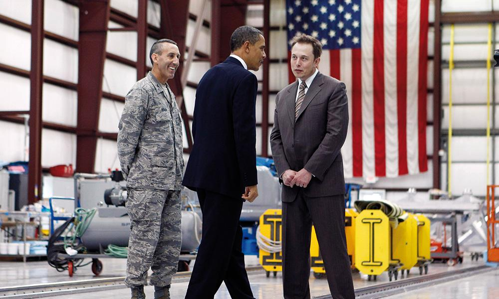 Let's Plot All Together Now! Obama, Elon Musk, and the Military: Laughing All The Way To The Bank!