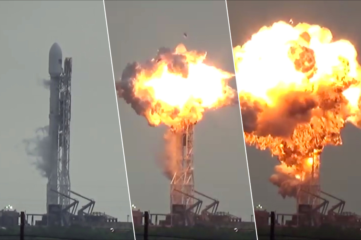 Space X Sept 1, 2016 explosion. Not an accident, a system where greed has replaced expertise..