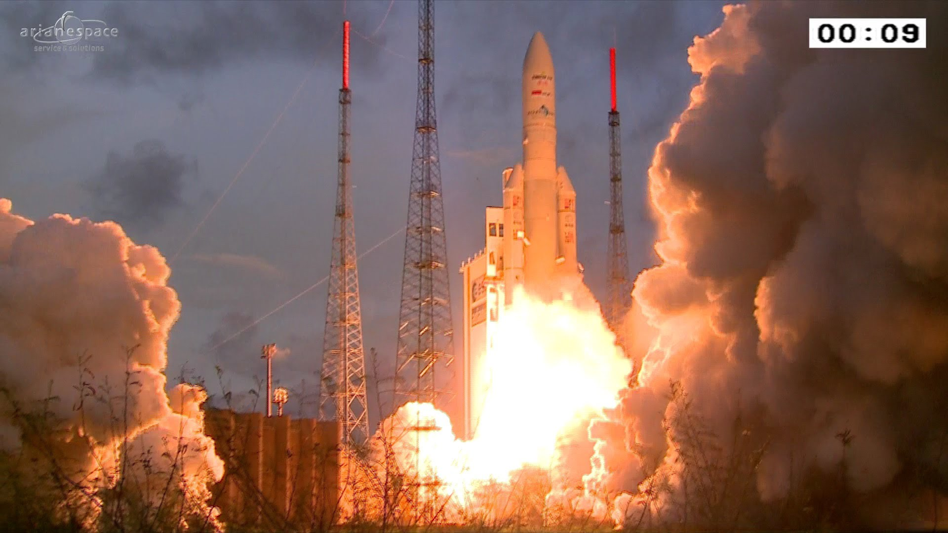 The State Of The Art French Vulcain Hydrogen-Oxygen Engine Lifting This Ariane V, And Actually The Entire Rocket, Was Developed Without Any Nazi Help