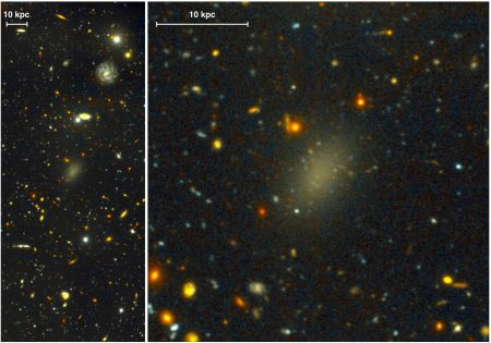 I Can Explain This Dark Galaxy, By Changing The Foundations Of Physics. No Less.