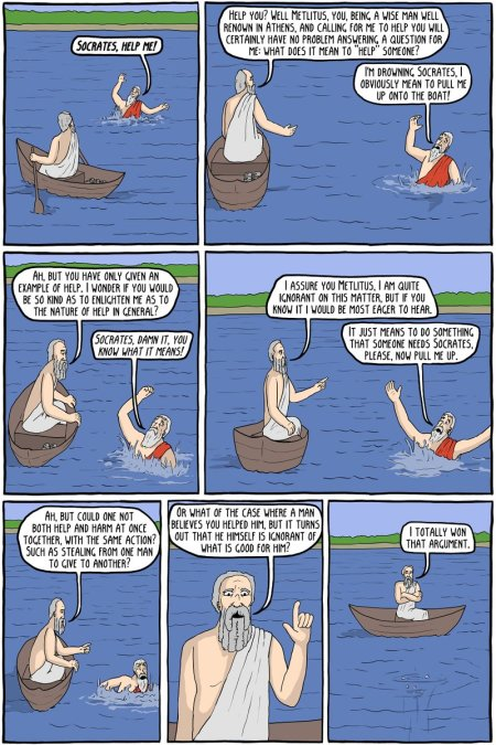 Socrates In A Nutshell. What's Wrong With Him? The Big Picture.