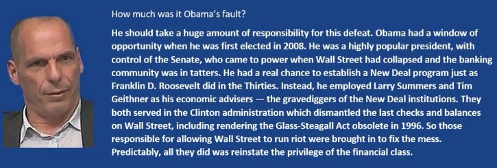 Obama Is A Financial Plutocracy Agent. Just Look At The Facts