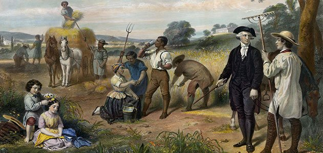 Slavery Made Washington, & America, Rich. So Did Holocaust. Refusing To Look At The Truth, Enabled These Behaviors, And Lives To This Day, as General Mood, The PC Mood.